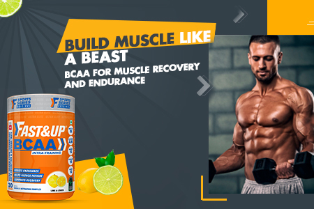 Fast&Up Amino Acids/BCAA Supplement Powder