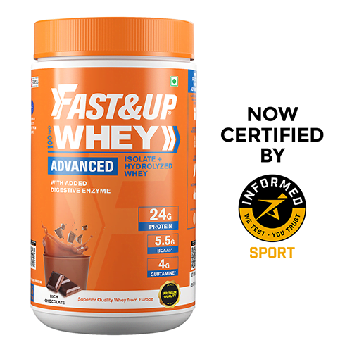 Fast&Up Whey Advanced - Rich Chocolate  - 456 gms