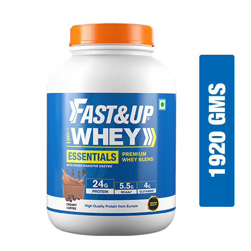 Fast&Up Whey Essentials - Creamy Coffee - 60 Servings