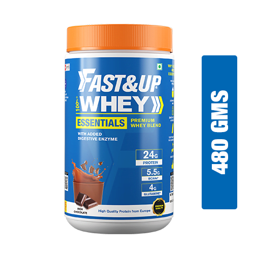 Fast&Up Whey Essentilas - Rich Chocolate - 15 servings