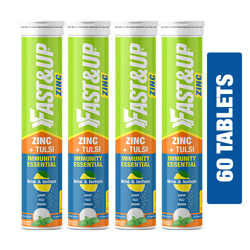 Fast&Up - Zinc Supplement - Combo of 4