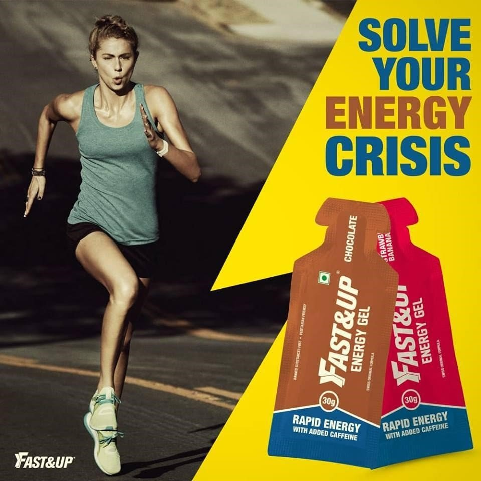 Fast&up Energy Gels: Solve Your Energy Crisis