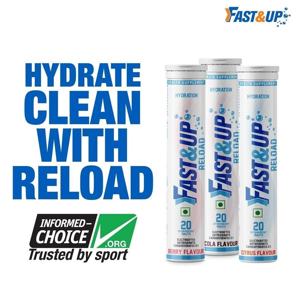 Fast&Up Reload: Hydrate Clean With Reload