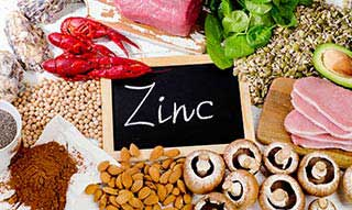 Foods which contain Zinc