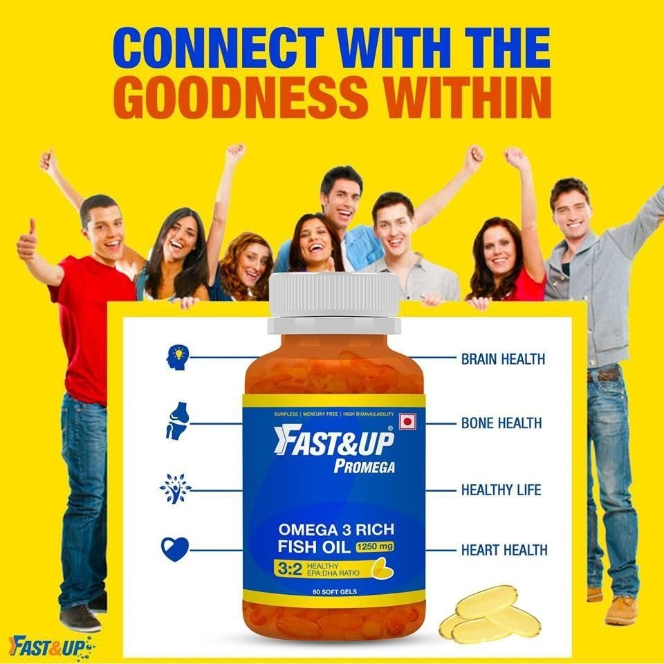 Fast&Up Promega: Connect with the goodness within