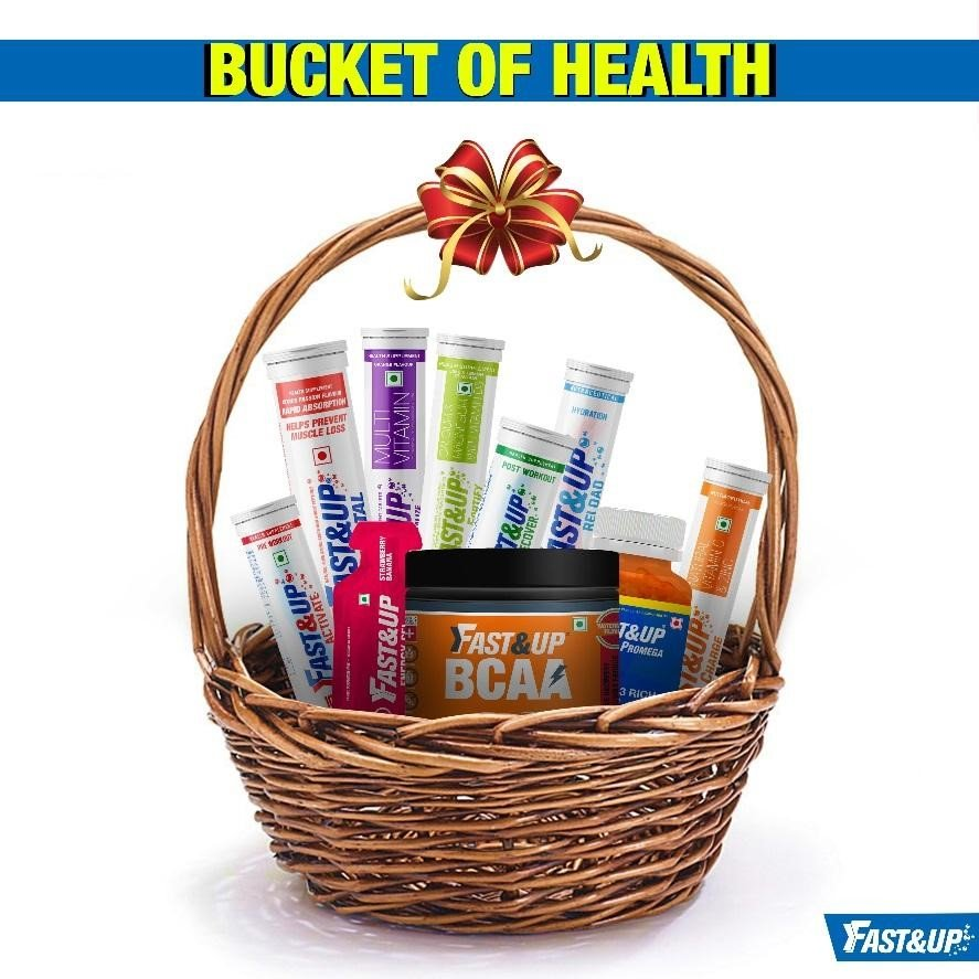 A basket of Fast&Up Supplement