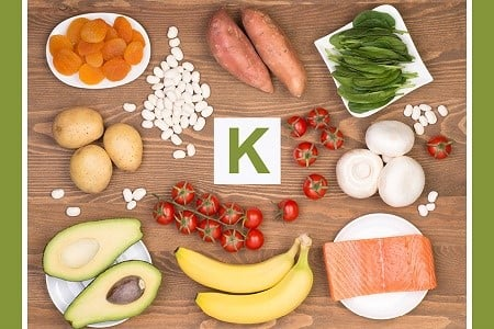 Food which contains Potassium