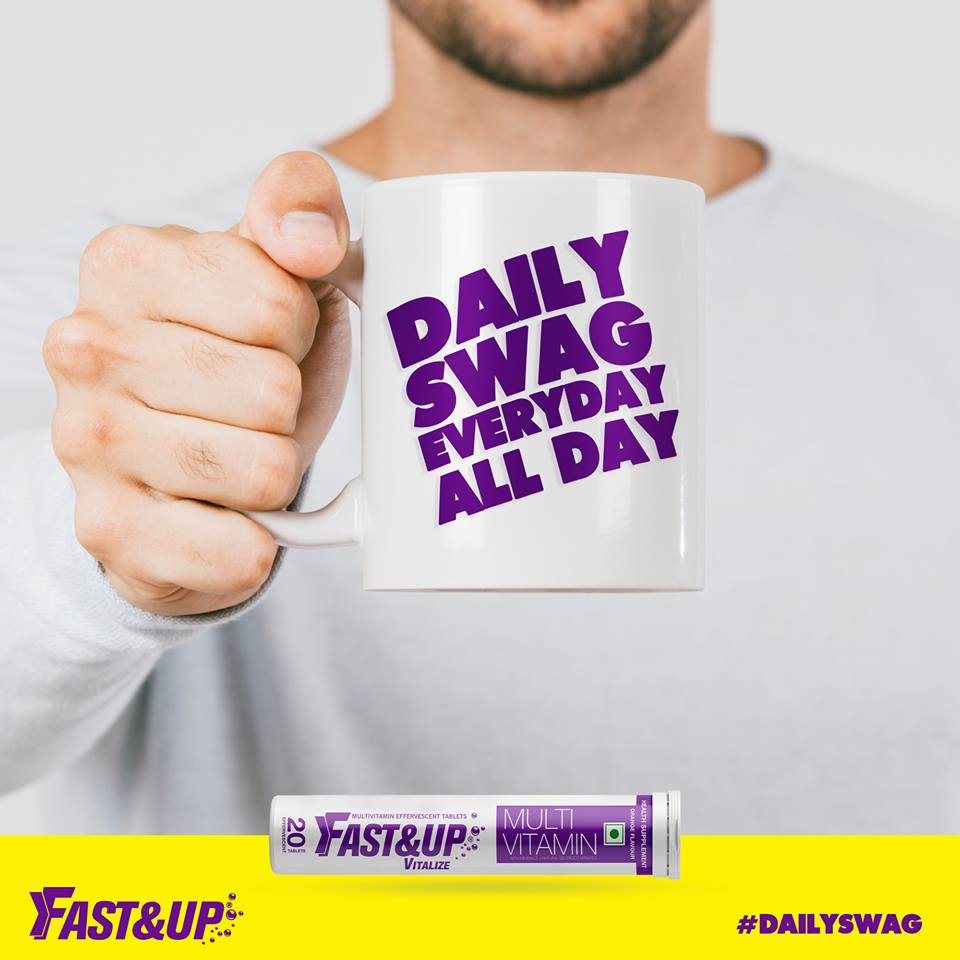 Fast&Up Vitalize: Daily Swag Everyday All Day