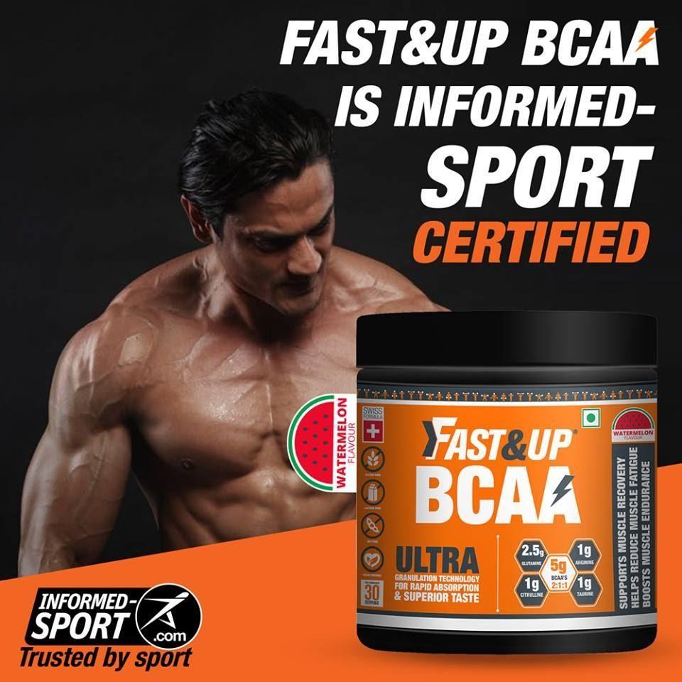 Fast&Up BCAA is informed sport certified