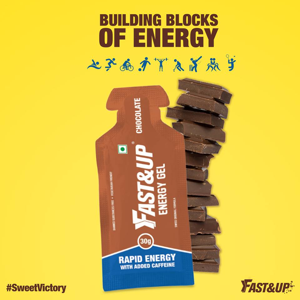 Fast&Up Energy gels - Chocolate