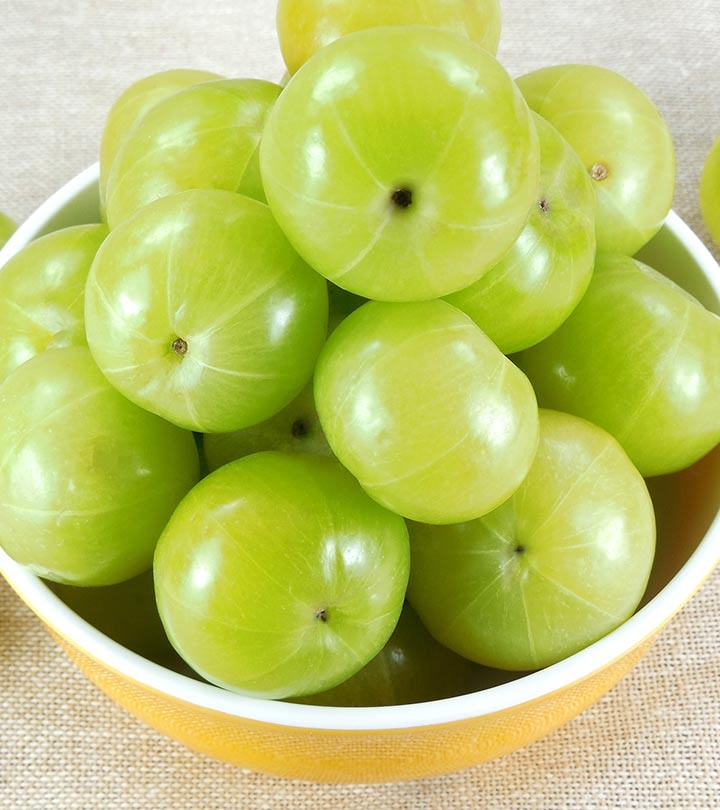 Indian Gooseberries in a bowl