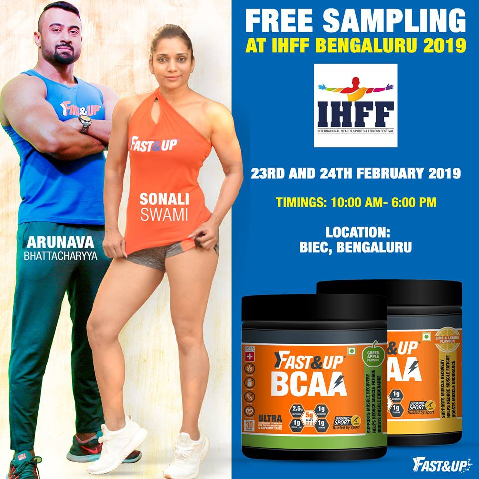 Fast&Up BCAA with IHFF Bengaluru 2019 event information
