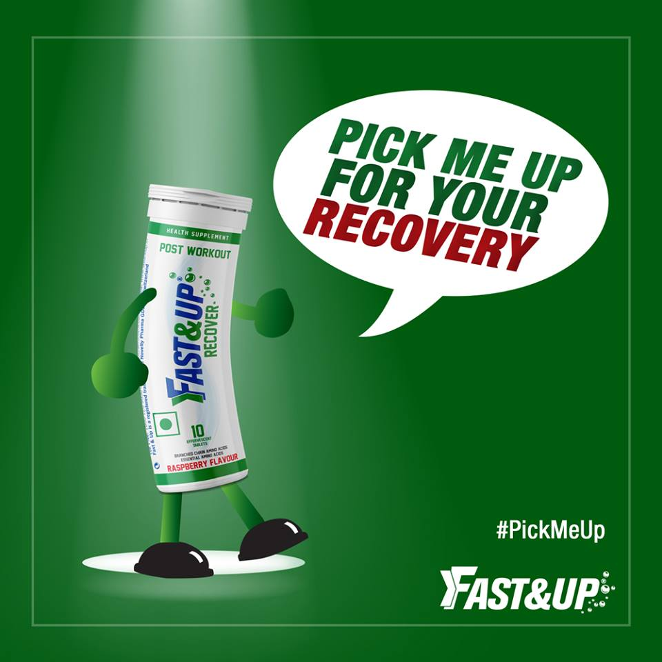 Fast&Up Recover Tube saying