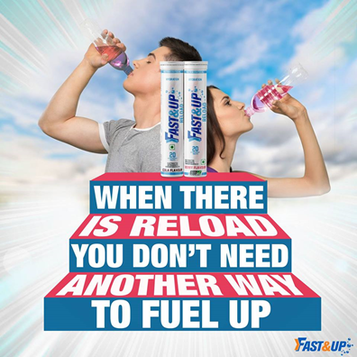Fast&Up Reload: When there is Reload, you don't need another way to fuel up