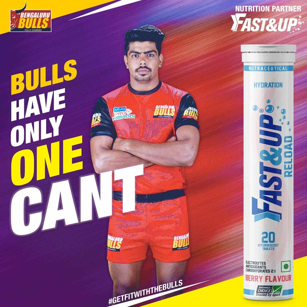 How Bengaluru Bulls prepare for every PKL 2019 match with Fast&Up