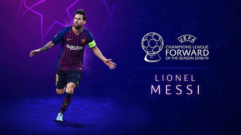 The UEFA Champions league awards