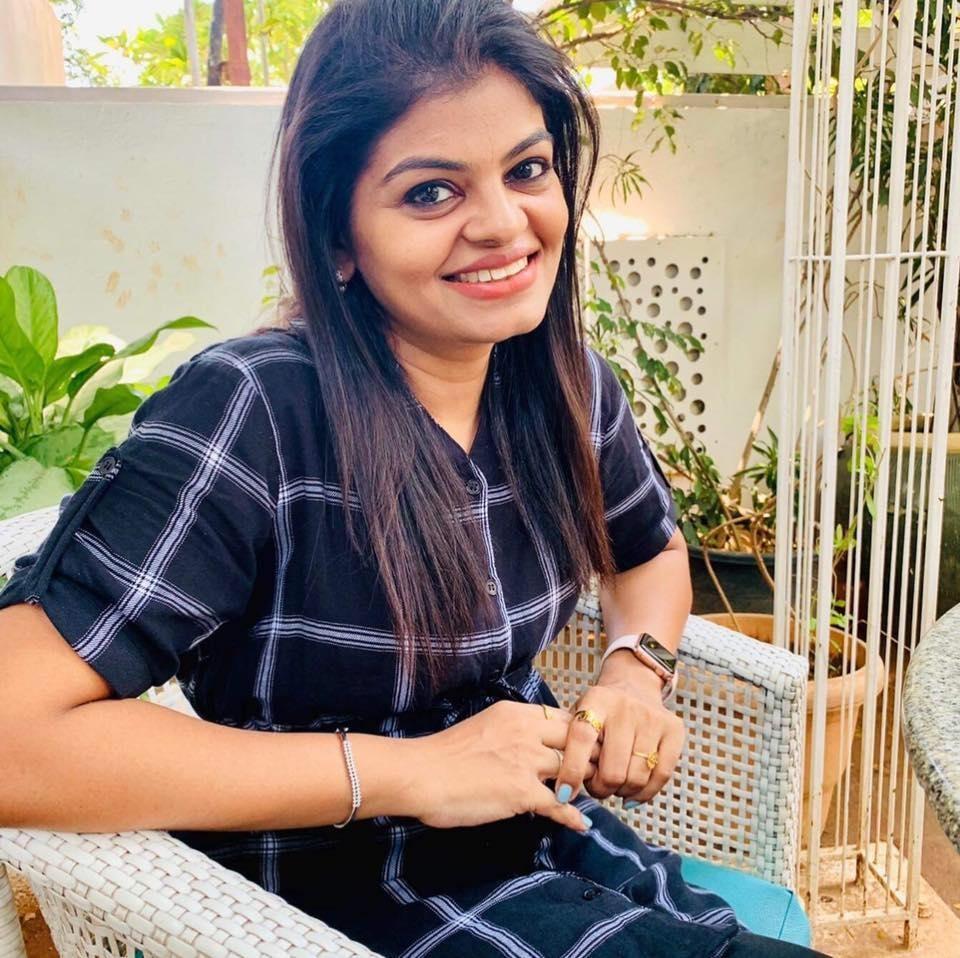 RUN MILES WITH SMILES- Vinodha Ganapathy