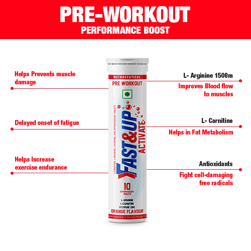 5 Health Benefits of Pre Workout Tablets