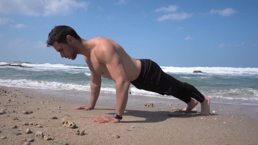 Fast&Up Beach Workout Push-ups