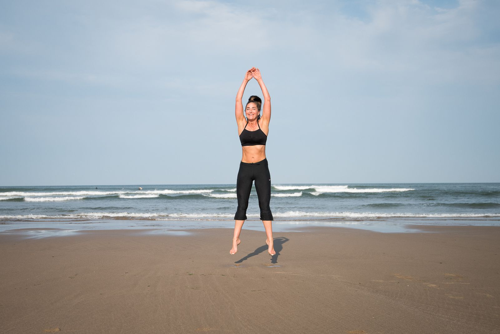 Fast&Up Beach Workout Burpees