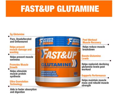 Fast&Up Glutamine Powder