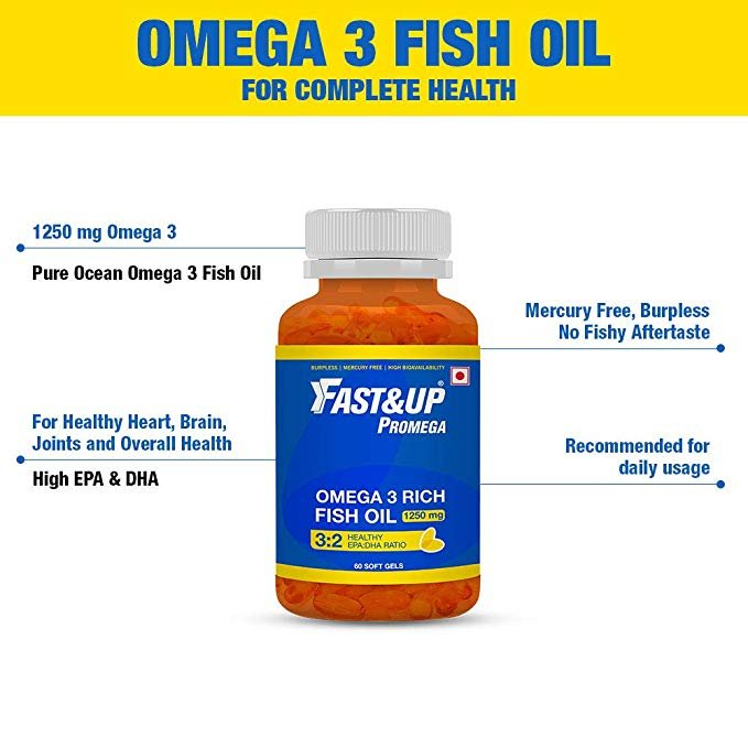 Fast&Up Omega 3 Fish Oil