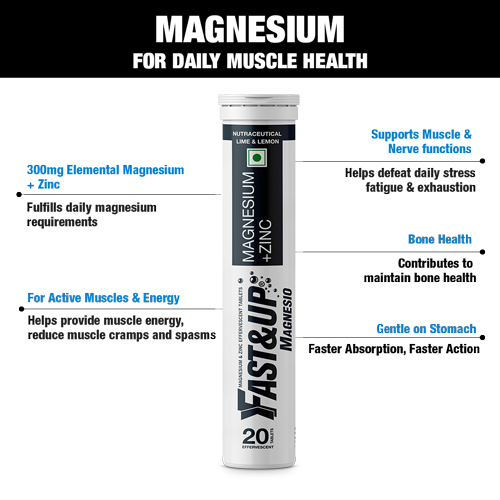 Fast&Up Magnesium Supplements