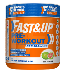 What is Fast&Up Pre Workout? Why We Have to Use it?