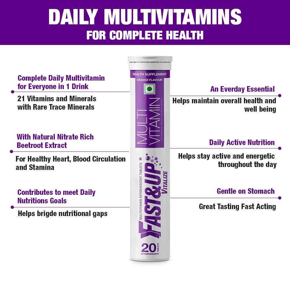 Fast&Up Vitalize Multivitamins Tablets
