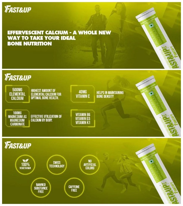 Fast&Up Fortify Calcium Supplements
