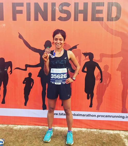 Fast&Up Simta Sharma, Marathon Runner