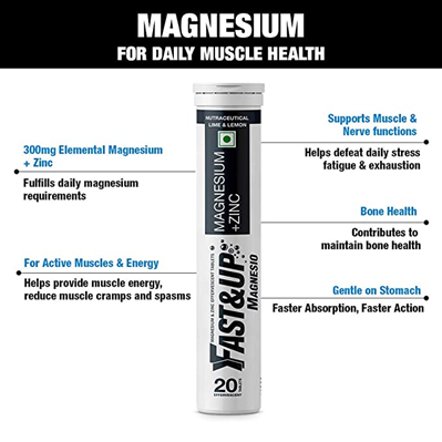 Fast&Up Magnesium Stress Relief Supplements