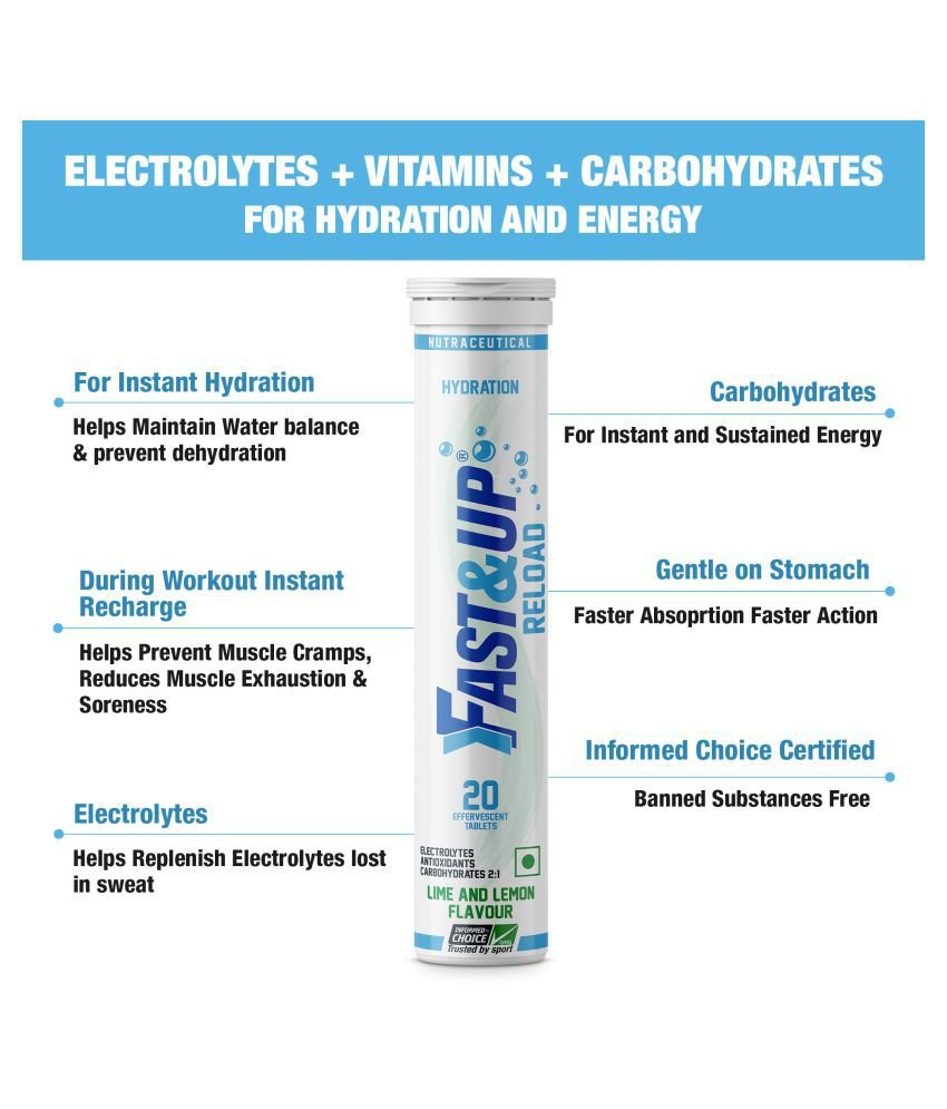Fast&Up Electrolyte Supplements