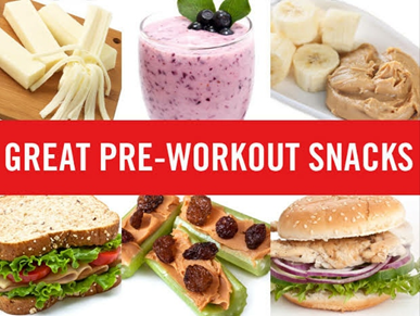 Fast&up Pre-Workout Snacks