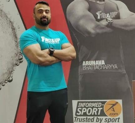 Fast&up Arunva Bhattacharya Bodybuilder