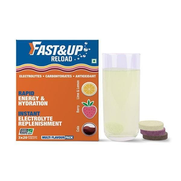 Fast&up Instant Electrolyte Replenishment Drinks