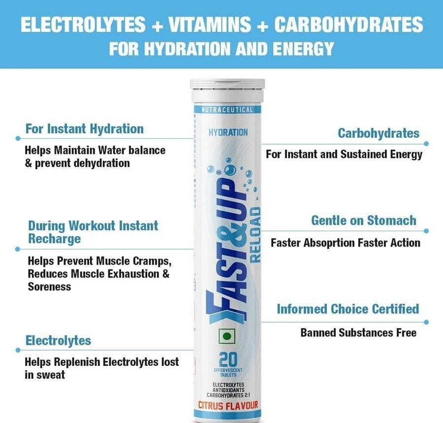 Fast&up Reload Instant Hydration Drinks