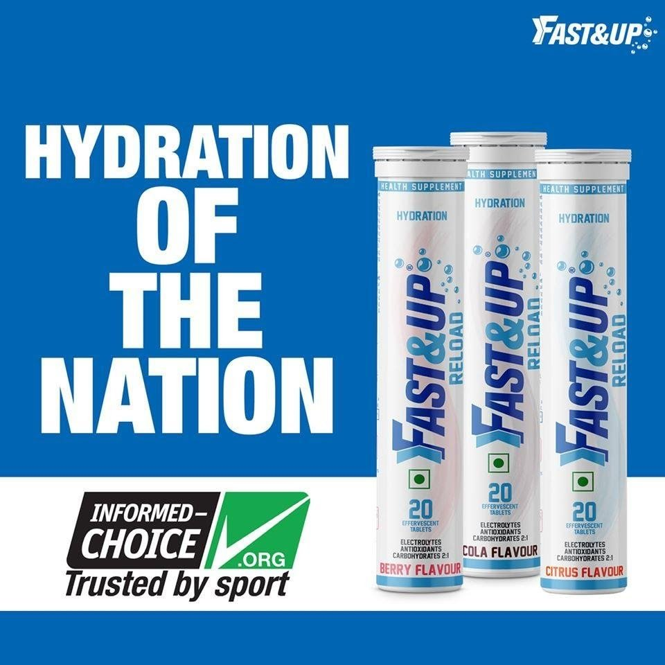 Fast&up Instant Hydration Supplements