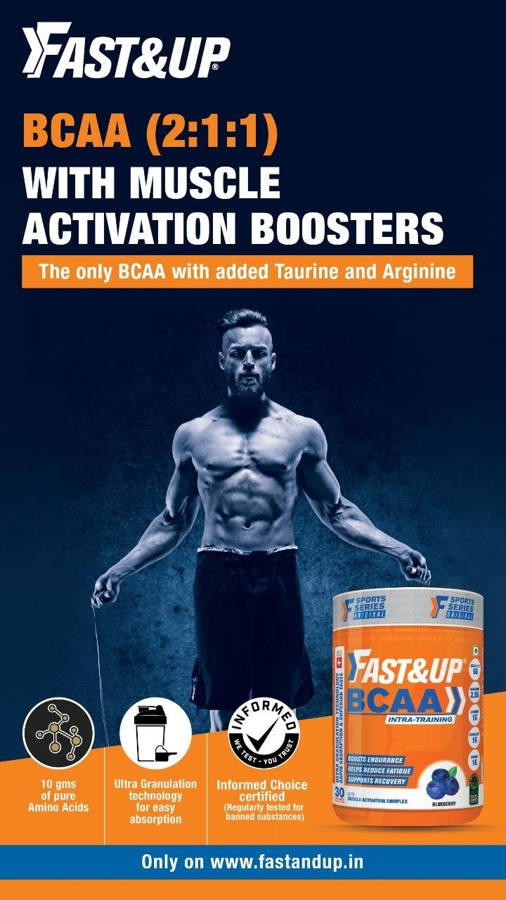 Fast&up BCAA Supplements