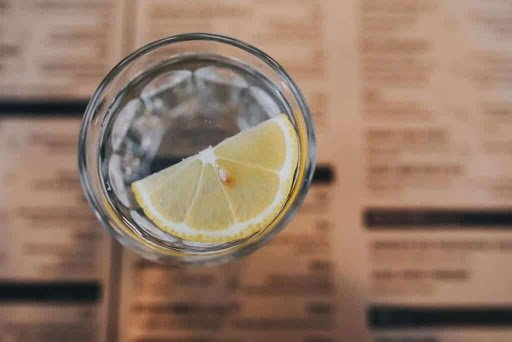 Fast&up START YOUR DAY WITH GLASS OF LEMON WATER