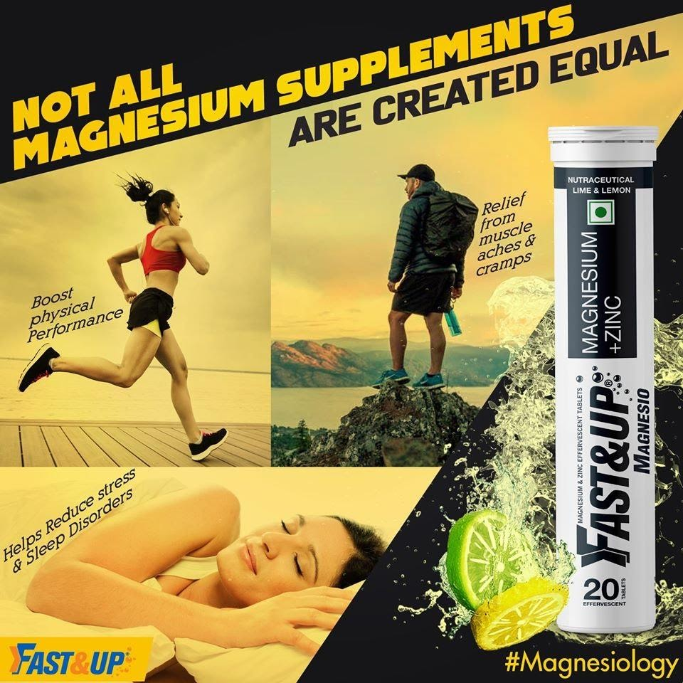 Fast&up Magnesium & Zinc Supplements