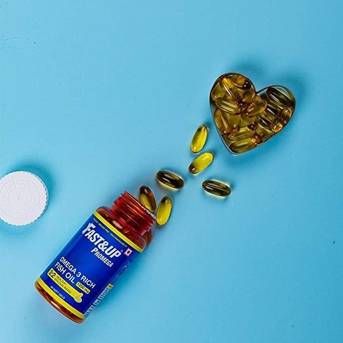 Fast&up Omega-3 Supplements