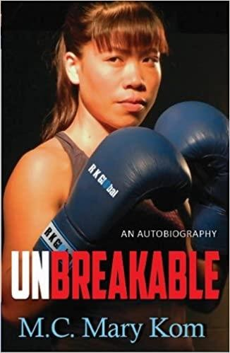 Fast&up Best Sports Books - Unbreakable- Mary Kom