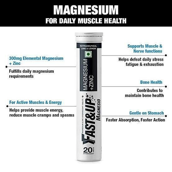 Fast&up Magnesium Supplements to fight Stress