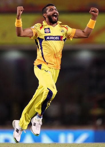 Top 5 Wicket Takers Of Chennai Super Kings - Ravindra Jadeja - Matches 102, Wickets 81 - Fast&up