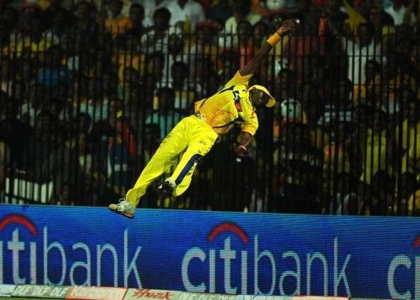Top 5 Fielders In The Indian Premier League - Dwayne Bravo - Fast&up