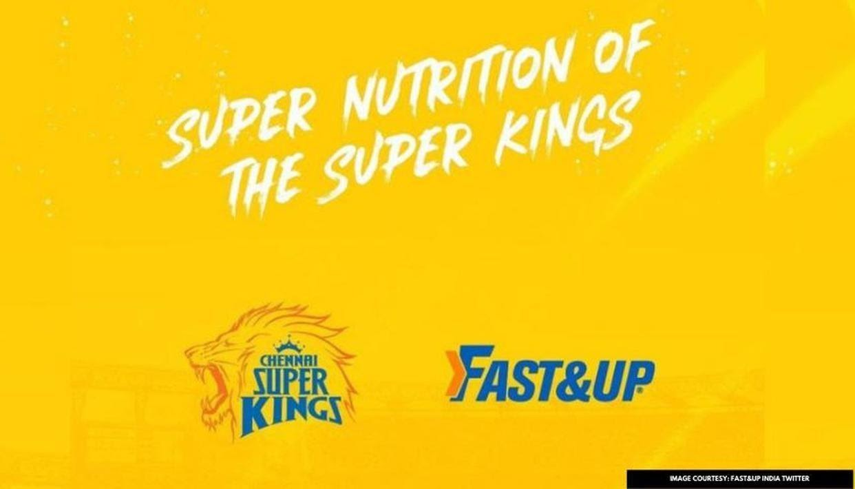 Official Nutritional Partner for CSK in IPL 2020