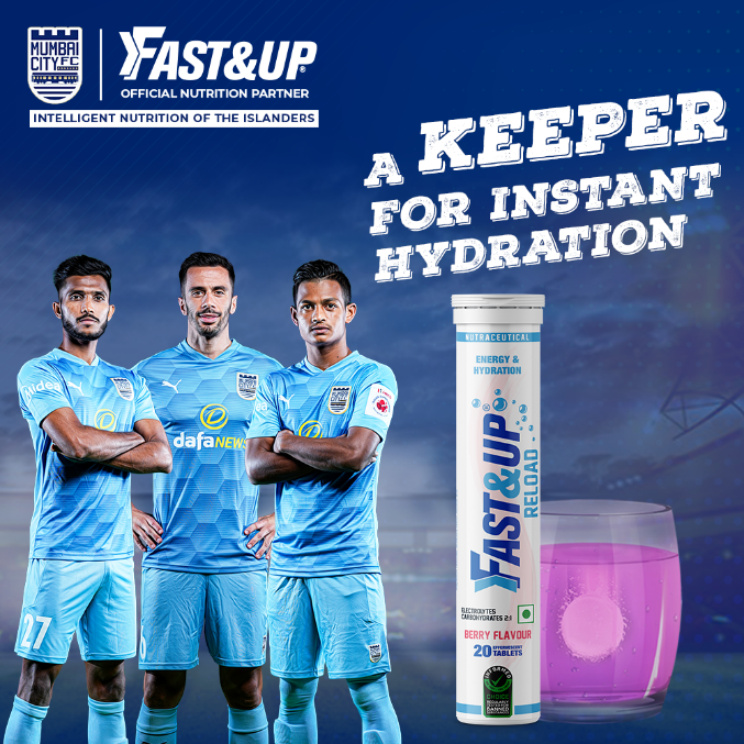 Instant Hydration for Football Players - Fast&Up
