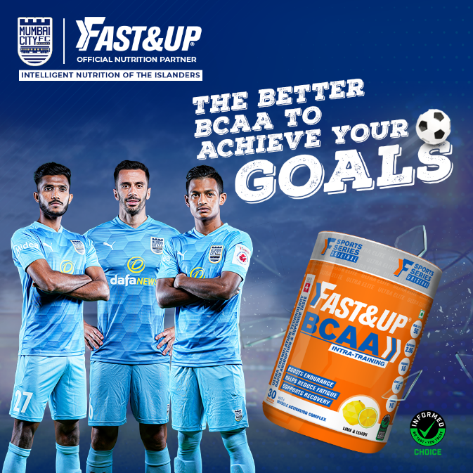 BCAA for Foot ball players - Fast&Up