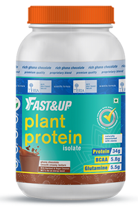 Plant Proteins Supplements for Athletes - Fast&Up